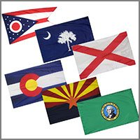 State and Territory Flags and Banners