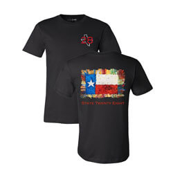 Texas State Twenty Eight Tshirt, FBPP0000013770