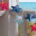 Red and Blue Stars String Lights, TAG202340