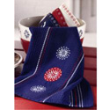Starburst Embroidered Waffle Weave Dish Towel, TAG430895