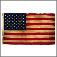 Tea Stained Flags & Accessories