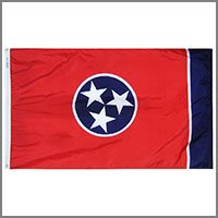 Tennessee State Flags & Banners