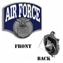 Air Force Hitch Cover, THAF18