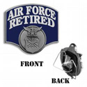 Air Force Retired Hitch Cover, THAF18B