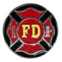 Fire Department Hitch Cover, THFIRE20C