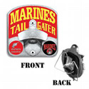 Marines Bottle-OpenerTailgater Hitch Cover, THMARTG