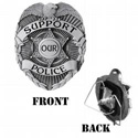 Support Our Police Hitch Cover, THSOP
