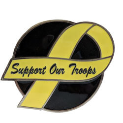 Support Our Troops Hitch Cover, THSOT