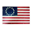 Horizontal Betsy Ross Flag Wall Hanging, TKBRFLAG