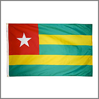 Togolese Flags