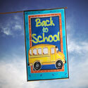 School Bussin' House Banner, TOL1010129H