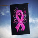 Hope Love Cure Cancer Awareness House Banner, TOL1010930H