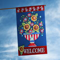 American Welcome House Flag, TOL102090H