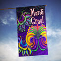 Happy Mardi Gras House Banner, TOL102125H