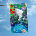 Koi Pond House Flag, TOL102559H
