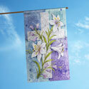 Easter Lilies House Flag, TOL102586H