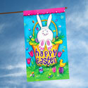 Bunny Tail House Flag, TOL102610H