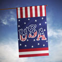 USA Salute House Banner, TOL102624H