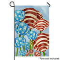 Red White and Tulip Garden Banner, TOL1010219H