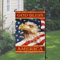 God Bless America Garden Flag, TOL1110401G
