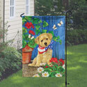 Patriotic Puppy Garden Flag, TOL111179G