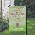 Easter Cross Garden Flag, TOL117094G
