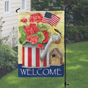Patriotic Watering Can House Banner, TOL118224G