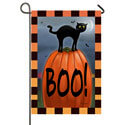 Boo Cat Garden Double Sided Banner, TOL119691G