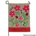 Bees and Ladies Burlap Garden Banner, TOL140038G
