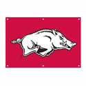 Arkansas Razorbacks Fan Banner, TPATGARK