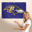 Baltimore Ravens Sports Fan Banner, TPATGBA