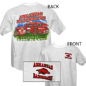 Arkansas White Tailgate T-Shirt