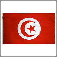 Tunisian Republic Flags