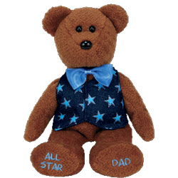 All Star Dad Beanie Baby, TY40359