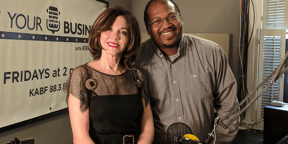 Behind the scenes at KABF 88.3 with Josh Hill and Kerry McCoy