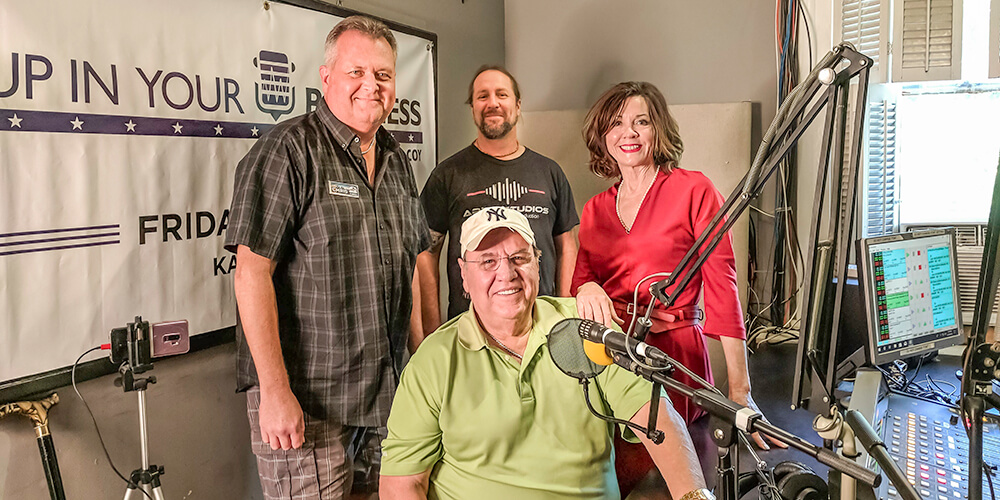 Behind the scenes at KABF 88.3 with Steve Landers, Kerry McCoy, Chris Cannon and Jayson Malik