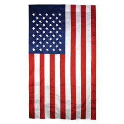 American Flag with Pole Hem, FBPP0000013792