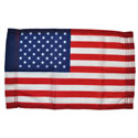 US Flag with Pole Hem, US812PH