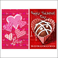 Valentines Day Flags & Decorations