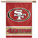 San Francisco 49ers House Banner