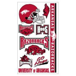 Arkansas Razorbacks Temporary Tattoos, WINC14299031