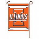 Illinois Fighting Illini Garden Banner