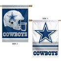 Dallas Cowboys Double Sided House Banner, WINC20970013