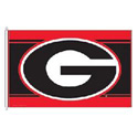 University of Georgia Bulldogs Flag, WINC23514051