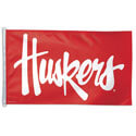 University of Nebraska Huskers Flag, DFLAG25992026