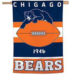 Chicago Bears Classic House Banner