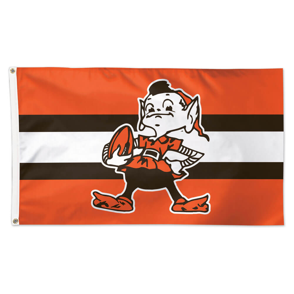Cleveland Browns Classic Brownie Flag 3 Ft X 5 Ft Winc46210118 Flagandbanner Com