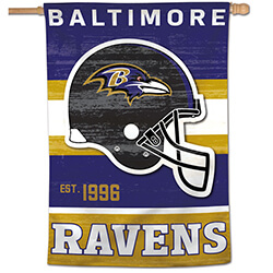 Baltimore Ravens Classic House Banner