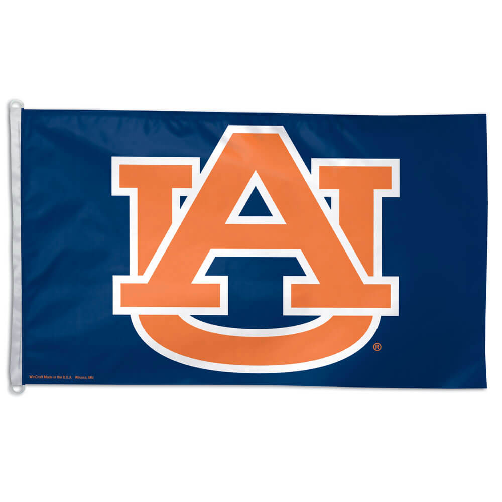 Auburn University Tigers Letters Flag (3 ft x 5 ft)