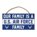 Air Force Family Wood Sign